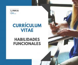 habilidades funcionales currículum vitae