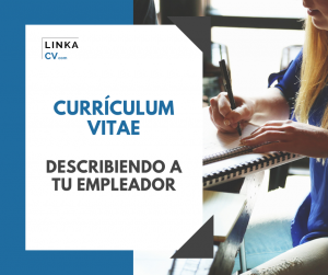 Currículum Vitae Describir a la empresa