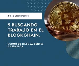 Buscando trabajo en el Blockchain Podcast