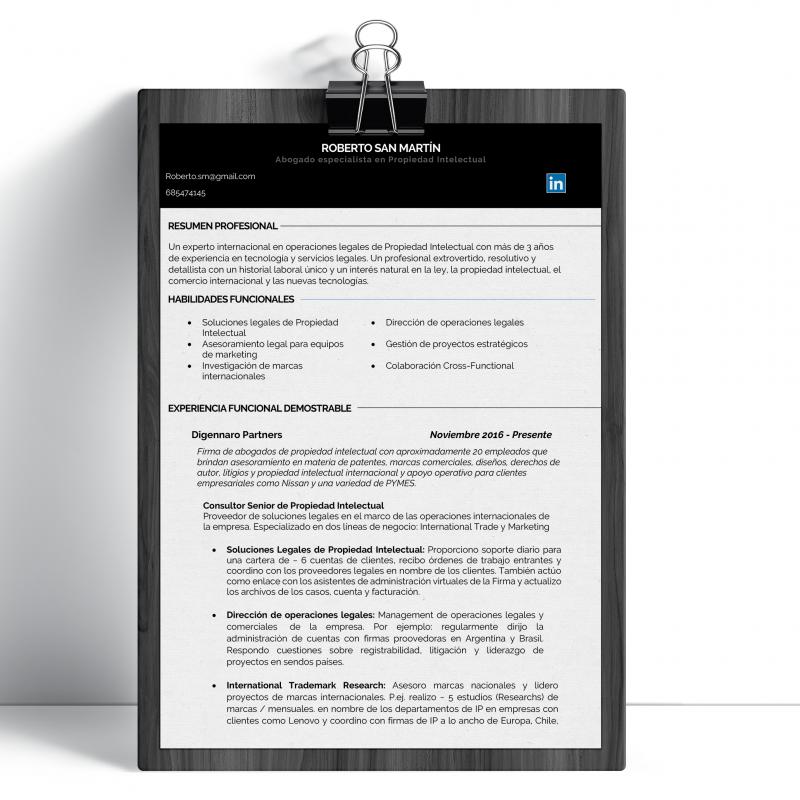 Ejemplo CV Propiedad Intelectual 3