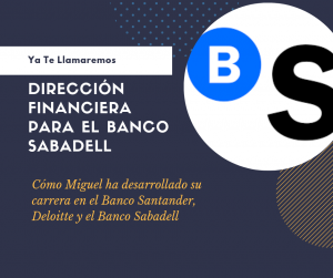 Dirección Financiera Banco Sabadell
