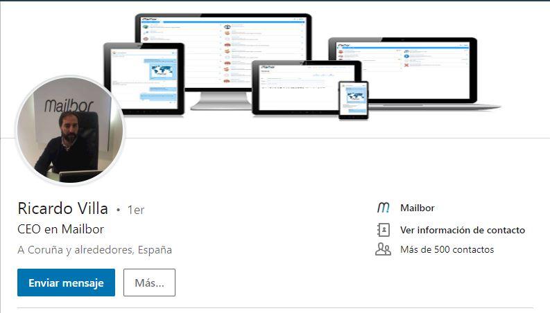 LinkedIn Ricardo Villa